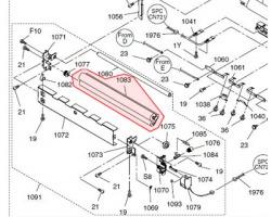Panasonic DZJP000059 Cleaning-web roller compatibile