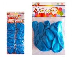 Party Palloncini azzurri sacchetto da 10pz