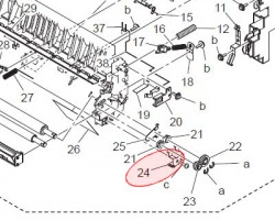 Konica Minolta 1164351402 Ground plate originale