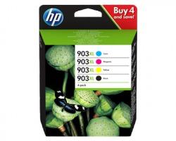 HP 3HZ51AE Multipack 1x4 cartucce inkjet nero, ciano, magenta, giallo originale (903XL)