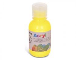 Primo 402TA125201 Colore acrilico giallo primario fine in bottiglia 125ml - 1pz