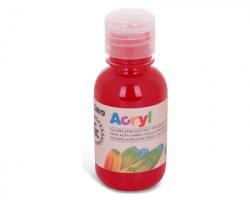 Primo 402TA125310 Colore acrilico rosso carminio fine in bottiglia 125ml - 1pz