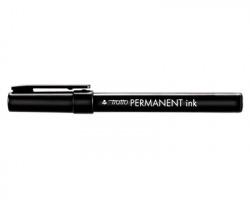 Fila-Tratto 732503 Tratto permanent ink Marcatore nero a base alcool, punta tonda - conf. 12pz
