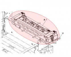Konica Minolta A0EDR72100 Fusing unit originale (A0EDR72111)