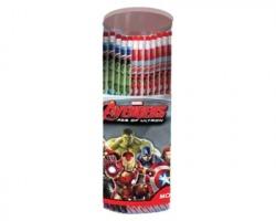 Avengers espositore da 60 matite con gomma