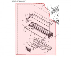 Konica Minolta 4040075200 Developer unit originale