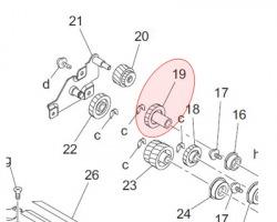 Konica Minolta 4021521202 Gear originale