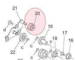Konica Minolta 4021521101 Gear originale