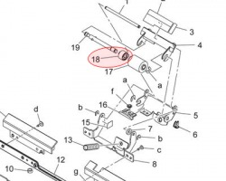 Konica Minolta A0ED563900 Torque limiter originale