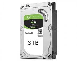"Seagate BARRACUDA Hard disk interno 3 TB, 3.5"", SATA III, 7.200 rpm, 256 MB (ST3000DM007)"