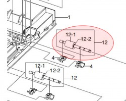 Samsung JC9604983A Roller feed dup originale