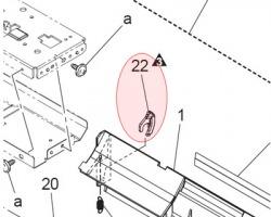 Konica Minolta A0ED-5792-00 Reinforce guide originale