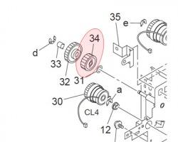 Konica Minolta 4030306801 Gear 26T originale