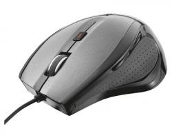 Trust 17178 Mouse USB ottico nero, velocità da 1000dpi a 1600dpi con 3 tasti