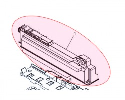 Konica Minolta A0DTWY0 Vaschetta recupero toner esausto compatibile