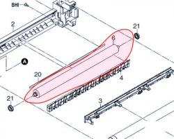 Kyocera 2C920060 Rullo fusore inferiore PFA compatibile (2C920061)