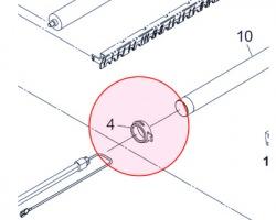 Kyocera 2C920150 Boccola rullo fusore superiore front compatibile
