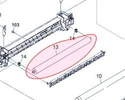 Kyocera 2KK94290 Rullo fusore inferiore PFA compatibile