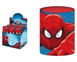 Spiderman portapenne in latta da 8cm