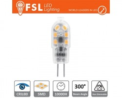 Lampadina LED 1.5W 125lm 4000K G4