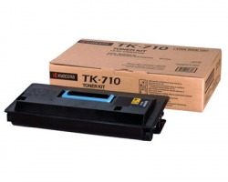 Kyocera TK710 Toner nero originale (0T2G10EU)