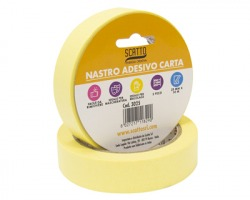 Scatto 3025 Nastro adesivo in carta 25mm x 30m - blister 1x2pz