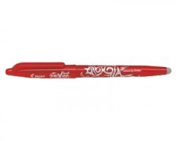 Pilot 006662 Frixion ball - penna rossa a sfera cancellabile e ricaricabile, 0.7mm - conf. 12 pz