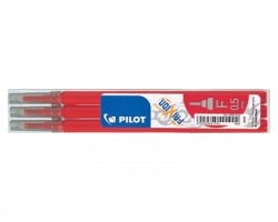 Pilot 006422 Frixion point Set refill rosso per penne Frixion point - 3pz