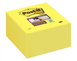 3M Post-It 2028-S Super sticky notes cubo giallo oro 76 x 76mm 350ff - 1pz