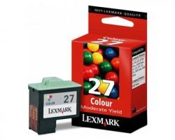 Lexmark 27 Cartuccia inkjet colore originale (10NX227E)