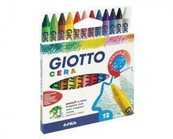 Fila-Giotto 281200 Astuccio 12 Pastelli a cera tondi Ø 8.5mm