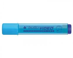 Fila-Tratto 830205 Tratto video - evidenziatore azzurro punta a scalpello - confezione 12pz