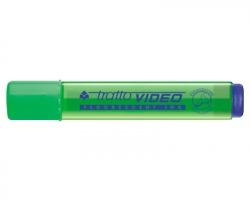 Fila-Tratto 830202 Tratto video - evidenziatore verde punta a scalpello - confezione 12pz