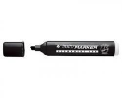 Fila-Tratto 840203 Tratto marker Marcatore nero a base d'alcool, punta a scalpello - conf. 12 pz