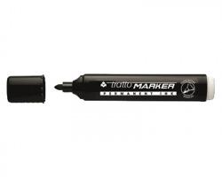 Fila-Tratto 841103 Tratto marker Marcatore nero a base acqua, punta tonda - conf. 12pz