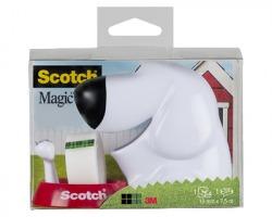 3M-Scotch C31 Dispenser Fido con rotolo scotch 810