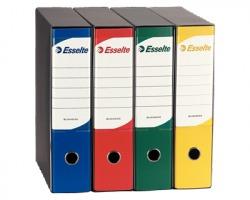 Esselte 390795050 Business registratore protocollo blu in plastica, dorso 8cm formato utile 23 x 33cm