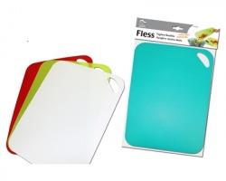 Tagliere flessibile in plastica, colori assortiti