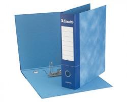 Esselte 390775050 Essentials G75 registratore protocollo blu dorso 8cm formato utile 23 x 33cm