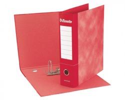 Esselte 390775160 Essentials G75 registratore protocollo rosso dorso 8cm formato utile 23 x 33cm