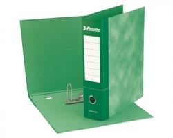 Esselte 390775180 Essentials G75 registratore protocollo verde dorso 8cm formato utile 23 x 33cm
