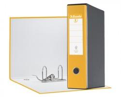 Esselte 390755090 Eurofile G55 registratore protocollo giallo, dorso 8cm formato utile 23 x 33cm