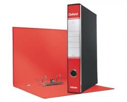 Esselte 390782160 Oxford G82 registratore commerciale rosso, dorso 5cm formato utile 23 x 30cm