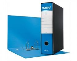 Esselte 390783800 Oxford G83 registratore commerciale azzurro, dorso 8cm formato utile 23 x 30cm