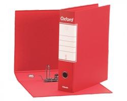 Esselte 390783160 Oxford G83 registratore commerciale rosso, dorso 8cm formato utile 23 x 30cm