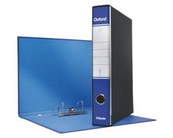 Esselte 390784050 Oxford G84 registratore protocollo blu, dorso 5cm formato utile 23 x 33cm