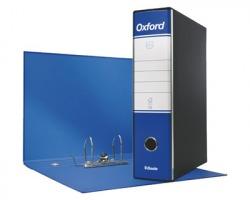 Esselte 390785050 Oxford G85 registratore protocollo blu, dorso 8cm formato utile 23 x 33cm
