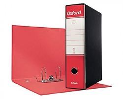 Esselte 390785160 Oxford G85 registratore protocollo rosso, dorso 8cm formato utile 23 x 33cm