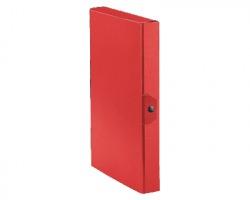 Esselte 390324160 Eurobox C24 cartella progetto rosso dorso 4cm - 5pz