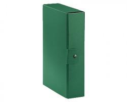 Esselte 390328180 Eurobox C28 cartella progetto verde dorso 8cm - 5pz